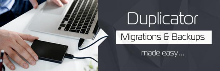 Duplicator – extension de migration wordpress – extension wordpress wordpress.org français