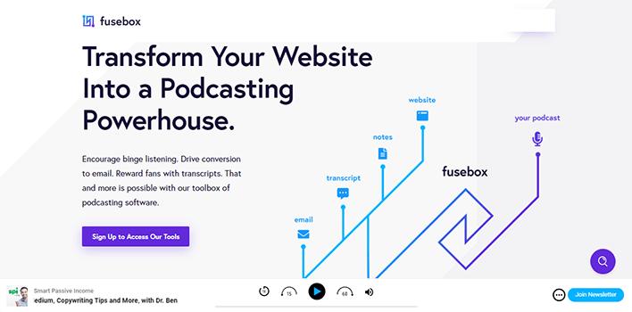 Fusebox plugins wordpress podcasters blogpascher