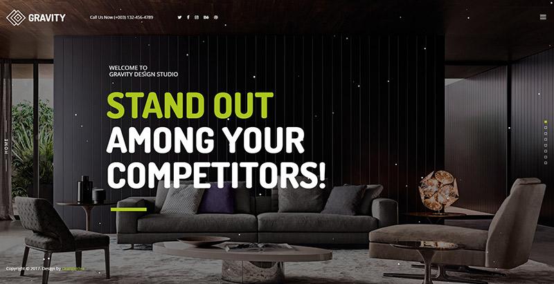 Gravity themes wordpress criar site pessoa agência criativo
