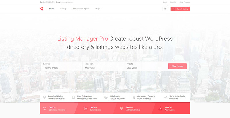 10 Temas de WordPress para crear un portal web anuncio | BlogPasCher