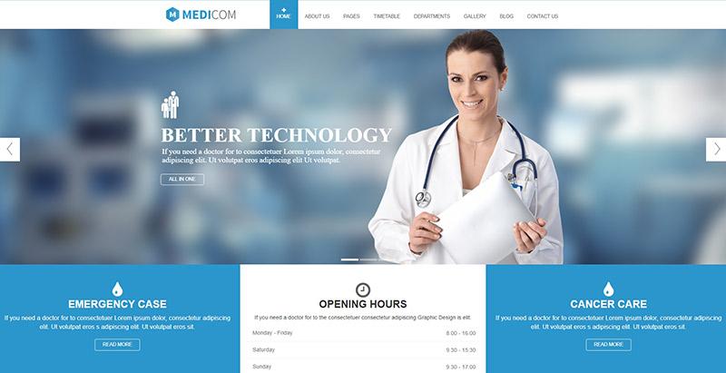 meilleurs thèmes WordPress - Medicom