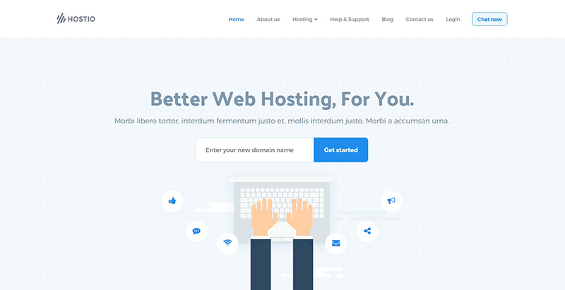 10 Temas de WordPress para crear un sitio de alojamiento web ...