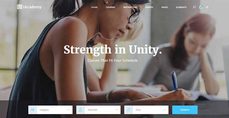 Temas de WordPress para crear un sitio de aprendizaje en línea ...