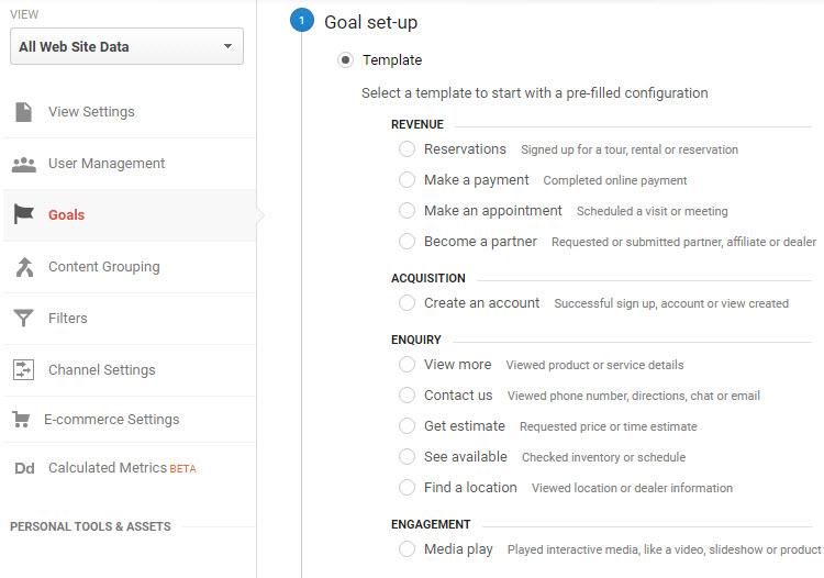 Objectif dun site google analytique