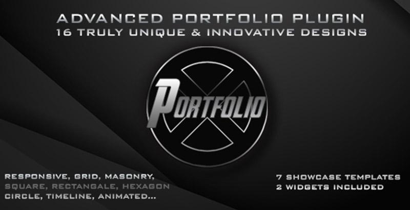 Portfolio x plugins wordpress ajouter galerie portfolio site web blog