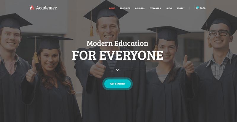 10 thèmes WordPress pour créer un site Web de e-learning