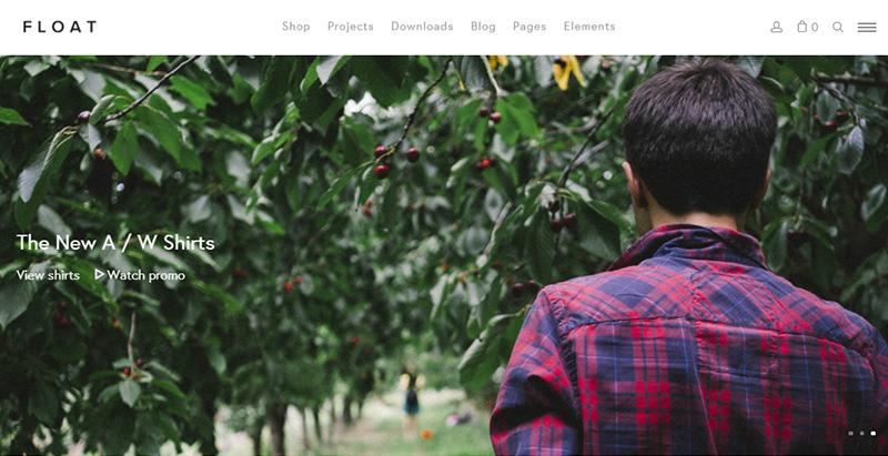 Float themes wordpress creer site web ecommerce woocommerce vente en ligne