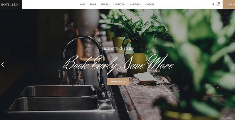 meilleurs thèmes WordPress d'hôtel pour créer un site web
