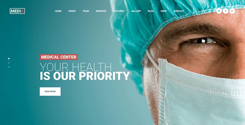 10 thèmes WordPress pour créer un site Web de clinique ou d'hopital