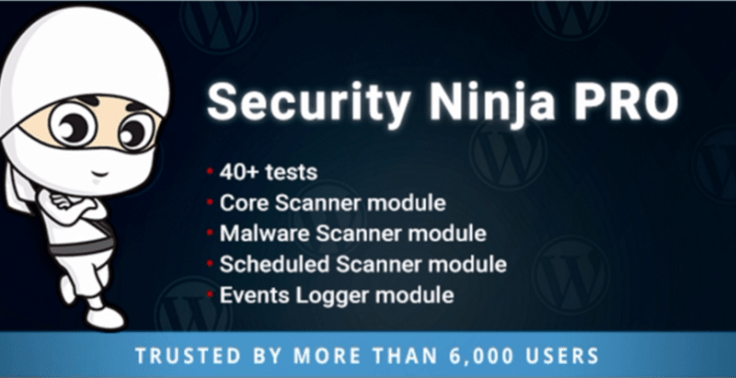 Security Ninja PRO plugins wordpress proteger site contre malwares attaques virus