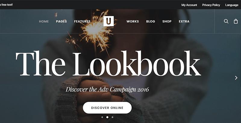 Uncode themes wordpress creer site ecommerce boutique en ligne vente achat commerce electronique