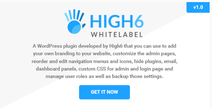 Whitelabel wordpress admin and login