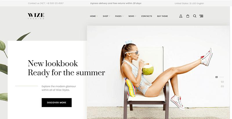 Wize themes wordpress creer site ecommerce boutique en ligne vente achat commerce electronique