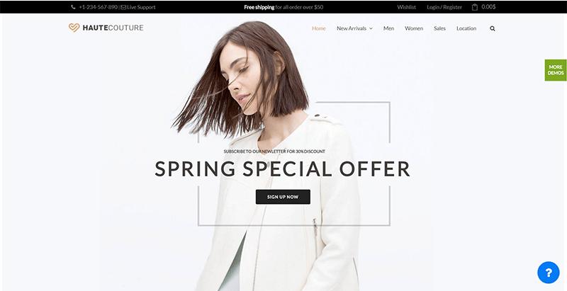 Nitro themes wordpress creer site ecommerce boutique en ligne vente achat commerce electronique