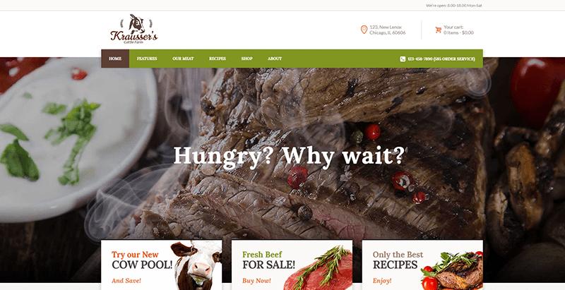 meilleurs thèmes WordPress de fermier