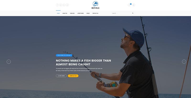 Temas de 5 WordPress para crear un negocio pesquero | BlogPasCher