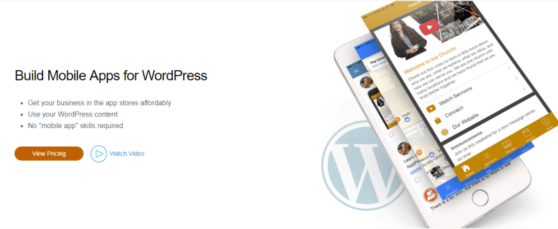 Build mobile apps with wordpress apppresser