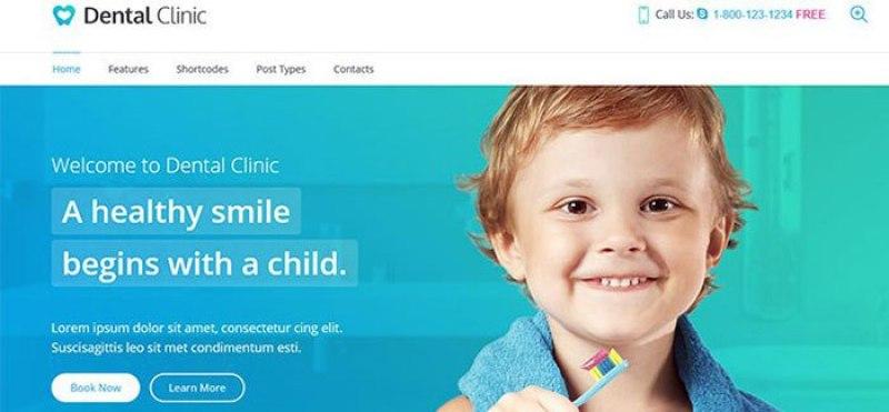 Dental clinic 10 themes wordpress cabinet dentaire blogpascher