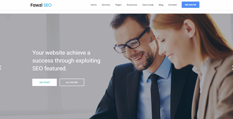 Fawzi themes wordpress creer site web entreprise pme compagnie