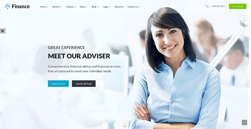 c887c032b 10 WordPress-temaer for å lage et forsikringsselskaps nettsted ...