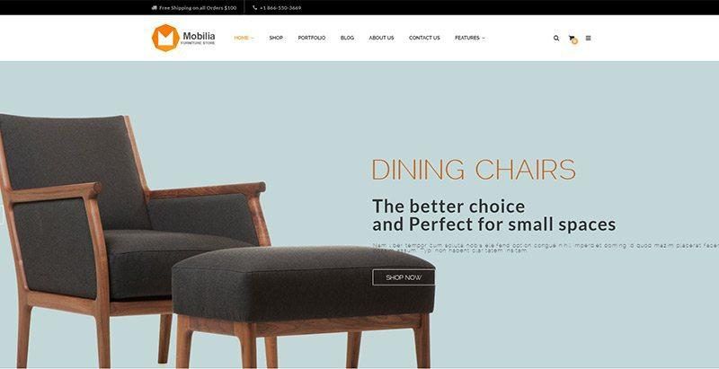 Mobilia Themes Wordpress Creer Site Vente De Meubles Ecommerce