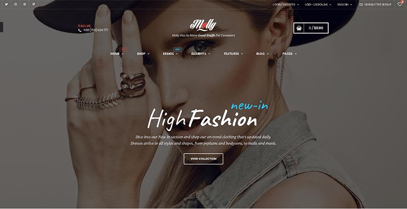 Temas de 10 WordPress para crear una tienda de ropa en línea ...