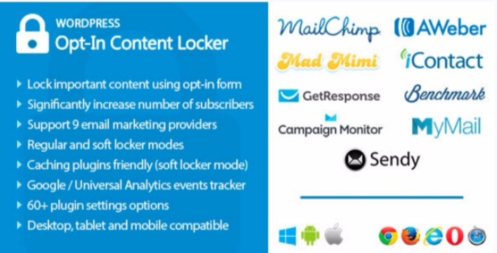Opt in content locker plugins wordpress verrouiller contenus site web