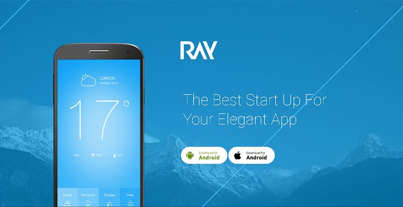 Ray themes wordpress creer site web applications mobiles logiciel