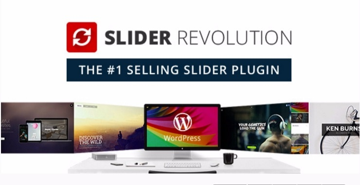 Slider revolution plugins wordpress creer diaporamas slides site web