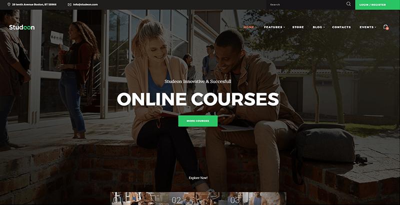 Temas de 10 WordPress para crear un sitio web de universidad ...