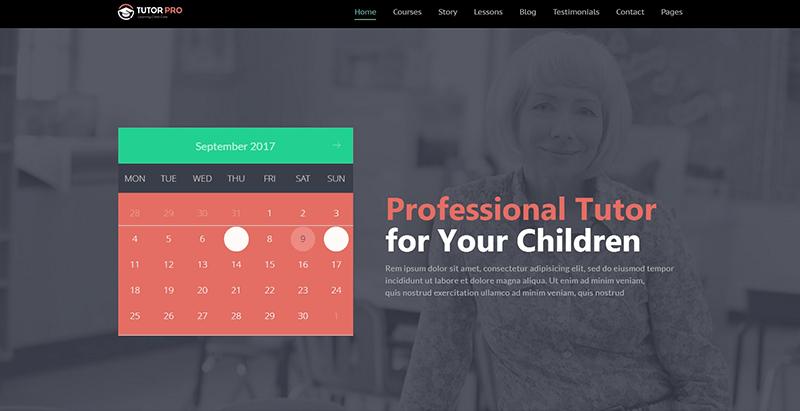 Tutor pro themes wordpress creer site web college lycee universite