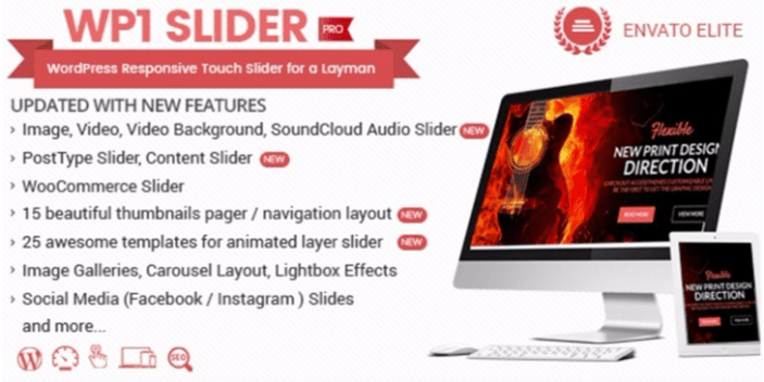 Wp1 slide pro plugins wordpress creer diaporamas slides site web