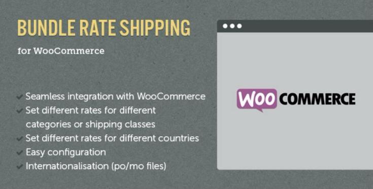 Woocommerce e commerce bundle rate shipping