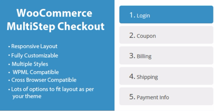 meilleurs plugins WordPress - Woocommerce multistep checkout wizard