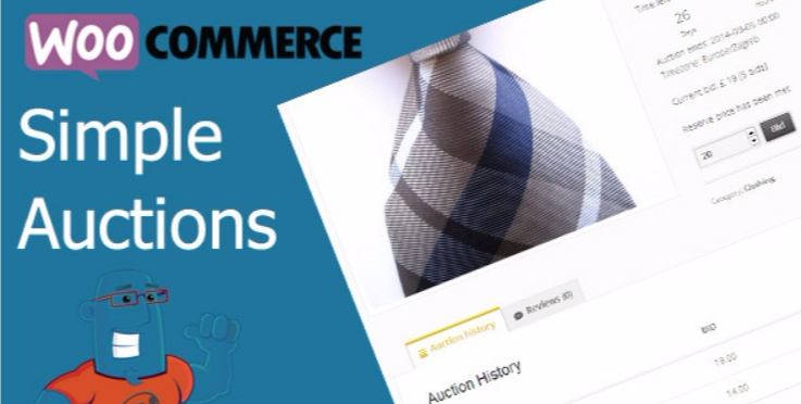 Woocommerce simple auctions 1
