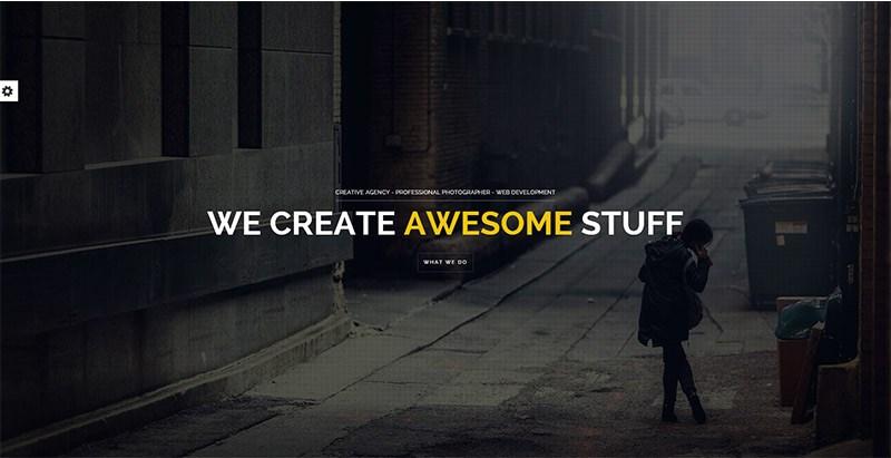 Brooklyn themes wordpress creer site internet onepage