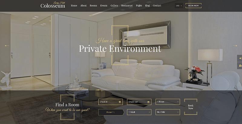10 thèmes WordPress pour créer le site Web d'un hôtel