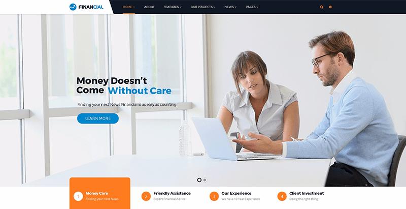 Temas de 10 WordPress para crear un sitio web de negocios ...