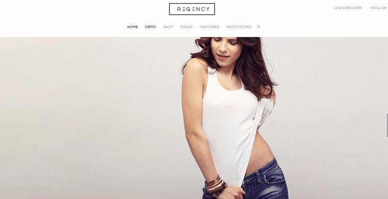 Regency themes wordpress creer site e commerce boutique en ligne achat vente