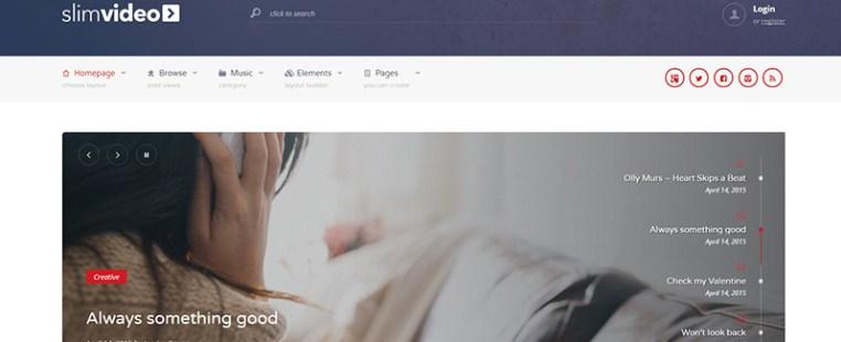 Slimvideo-themes-wordpress-site-internet-videos | BlogPasCher