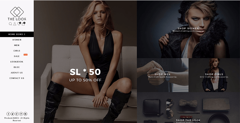 The look themes wordpress creer site e commerce boutique en ligne achat vente