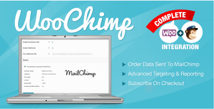 Woochimp woocommerce mailchimp integration