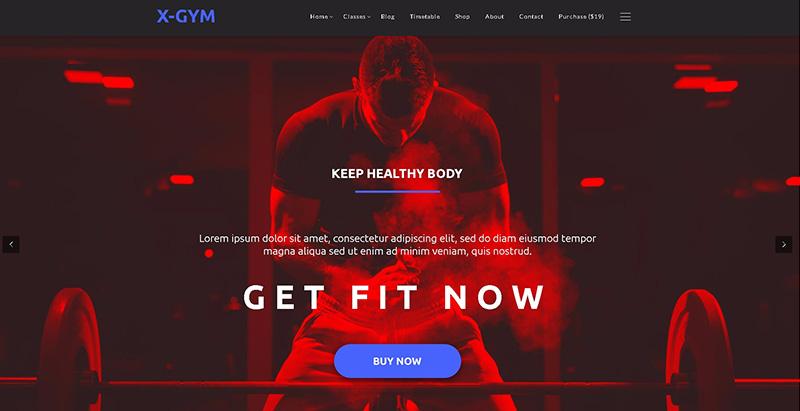 Temas de WordPress para crear un gimnasio o un sitio web de yoga ...
