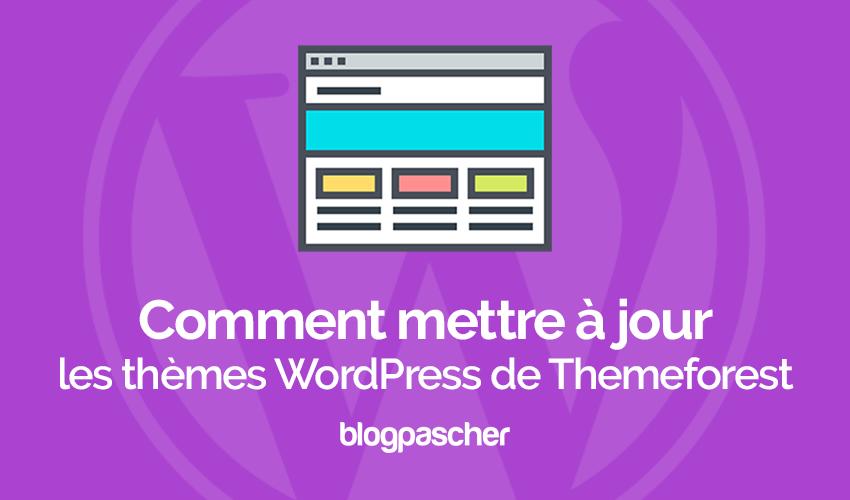 Comment mettre à jour des thèmes premium sur wordpress