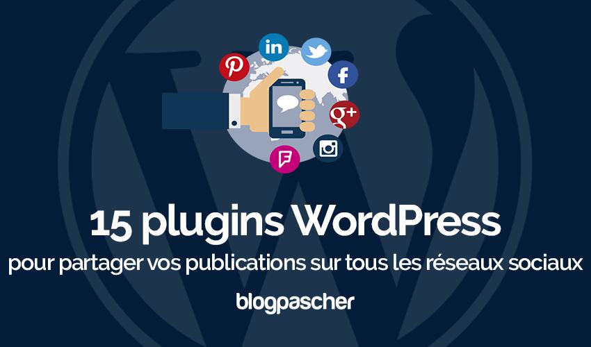 Plugins Wordpress Partager Publications Reseaux Sociaux 1