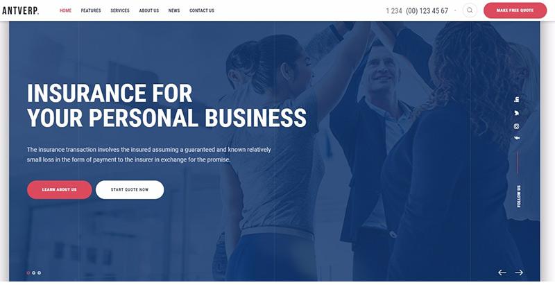 Temas de 10 WordPress para crear un sitio web corporativo o de ...