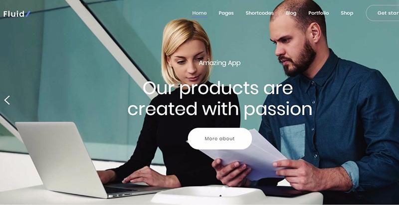 Жидкие темы wordpress создать сайт компания стартап агентство sme