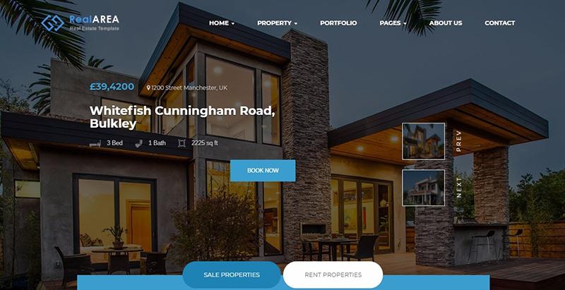 Temas da área imobiliária wordpress criar site de negócios imobiliários