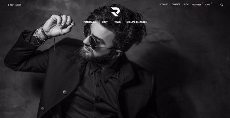 Romeo themes wordpress creer boutique ligne vetements mode fashion