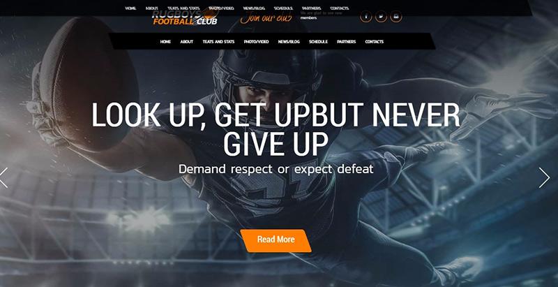 10 thèmes WordPress pour créer un site Web de club de sport